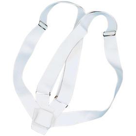 Double Harness Carrying Belts  White Webbing