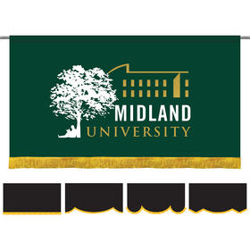 3' x 6' Parade Lead Banner with Fringe