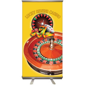 "32'' X 60"" Custom Retractable Banner Stand"
