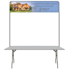 6' table top hardware & small banner kit