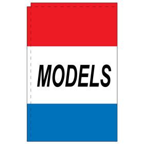 models 2.5' x 5' windchaser horizontal message flag
