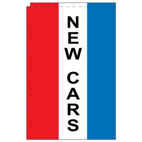 new cars 2.5' x 5' windchaser vertical message flag