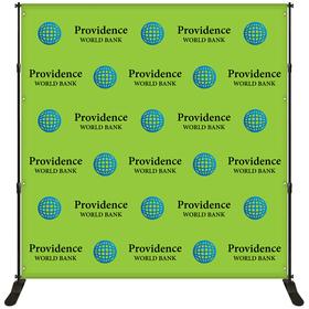 8' x 8' Backdrop Banner Kit