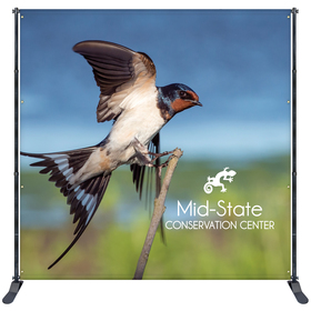 10' x 10' Premium Backdrop Banner Wall Kit