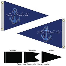 "24"" x 36"" Double Sided Knitted Polyester Boat Flag"