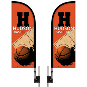 Half Drop Tent Banner Kit - Double Sided