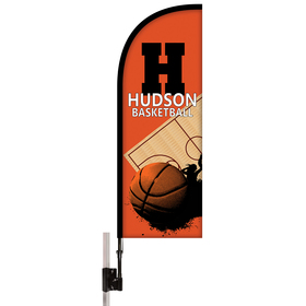 Half Drop Tent Banner Kit - Single Reverse