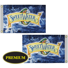 2' x 3' Double Sided Digitally Printed Knit Polyester Flag