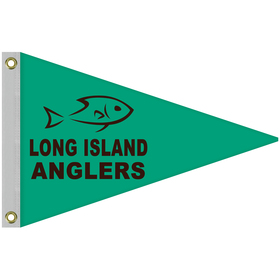 2' x 3' Single Reverse Knit Polyester Pennant