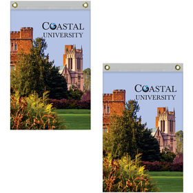 2' x 3' Standard Double Sided Knitted Polyester Vertical Banners