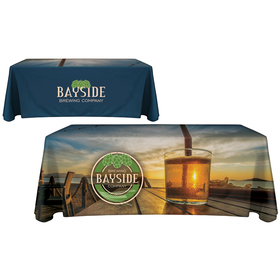 6' Customized Throw Style Table Cover