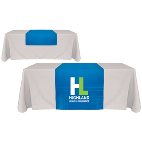 "30"" x 72"" Digitally Printed Table Runners"