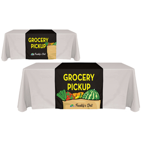 "30"" x 90"" Digitally Printed Table Runners"