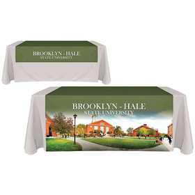 "60"" x 72"" Digitally Printed Table Runners"