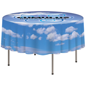 "59"" x 59"" round table cover"