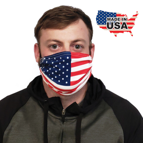 premium flag pattern fabric face mask