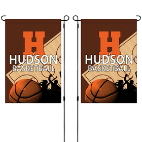 "14"" x 20"" Custom Double Sided Garden Banner"