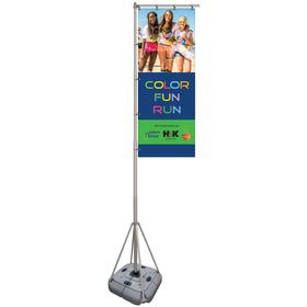 10' Giant Flagpole Kit