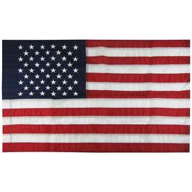 2.5' x 4' u.s. nylon flag with pole sleeve