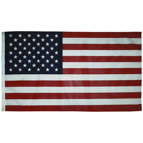 3' X 5' U.S. Promotional Printed Poly/Cotton Flag