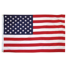 3' x 5' outdoor printed cotton u.s. flag