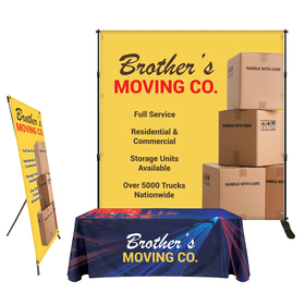 Trade Show Booth Display - Starter Package
