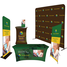 Trade Show Booth Display - Superior Package