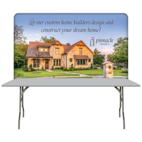 6' table top hardware & medium banner kit