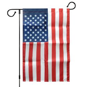 "12"" x 18"" printed polyester us garden flag"