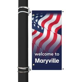 "36"" x 18"" Custom Avenue Banner"