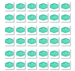 6 x 8.5 LABEL SHEET 1 X 1 SQUARES 36-up