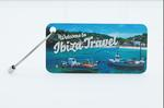 madison aluminum slide luggage tag