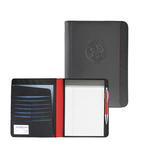 matrix pu leather padfolio
