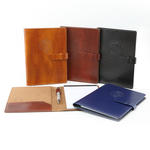 "newage italian pu leather 5"" x 8"" junior padfolio"