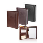 "atlantis bonded leather 5"" x 8"" junior padfolio"