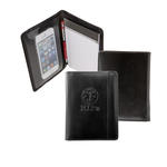 "atlantis bond leather 4.5"" x 5.5"" prescription padfolio"