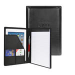"classic valueplus faux leather 5"" x 8"" junior padfolio"