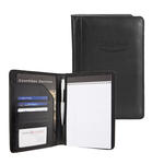 "pro designer pu leather 5"" x 8"" junior padfolio"