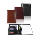 "atlantis bonded leather 8.5"" x 11"" padfolio"