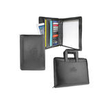"pro designer pu leather 8.5"" x 11"" 1 1/4"" 3-ring portfolio"