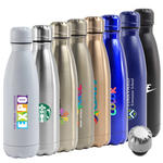 atlantis 17oz. double wall stainless steel vacuum insulated bottle