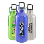 traveler 20oz 18/8 stainless steel sports bottle