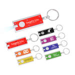 SceneSetter LED Flashlight Key Chain