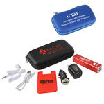 madison 7 piece 2200mah phone gift set