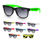 traveler two tone sunglasses