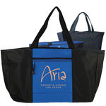 ibiza wide-top 600d boat tote