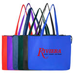 polypropylene tote bag w/ zipper (extra large)