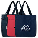 expandable shopping tote bag