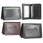 Atlantis leather business card wallet case