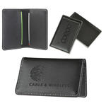 Signature Leather Business Card Case